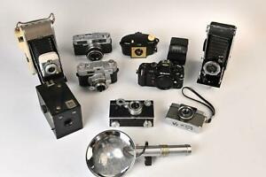Collection of Eleven Classic Cameras