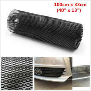 40''x13'' Black Universal Aluminum Grille Net Mesh Grill Section For Car Vehicle