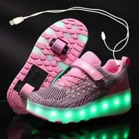 LED Roller Shoes | Luminous Light Shoes | Kids Roller Skates | Wheel Shoes