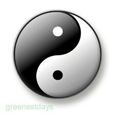 Yin and Yang 1 Inch / 25mm Pin Button Badge Chineese Philosophy China Sun Shade
