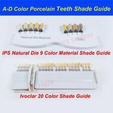 Ivoclar Vivadent Dental Teeth Shade Guide A D 920 Color Porcelain Based On Vita