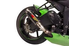 2015 ZX6R MGP Carbon Fiber Exhaust Slip On 2009 2010 2011 2012 2013 2014
