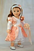"""American Girl Blaire Bridesmaid Dress Outfit Hat & More Fits 18"""" Doll Nanea Lea"""