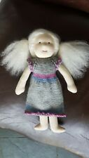 KÄTHE KRUSE WALDORF DOLL new with dress and matching hat