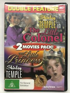 Shirley Temple - 2 Movie 1 DVD Pack - AusPost with Tracking