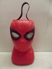 RARE MARVEL SPIDER MAN RENZI PLASTIC HALLOWEEN TRICK OR TREAT CANDY PAIL BUCKET