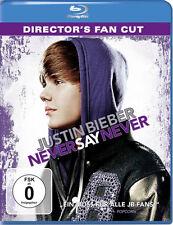 Blu-ray * JUSTIN BIEBER - NEVER SAY NEVER - DIRECTOR'S FAN CUT # NEU OVP