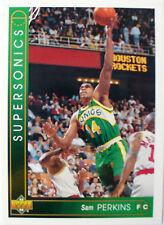 CARTE  NBA BASKET BALL 1994  PLAYER CARDS SAM PERKINS (28)