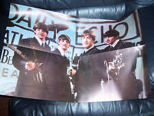THE BEATLES EARLY GIANT POSTER PYX ORIGINAL 1964 AWESOME NEAR MINT CONDITION