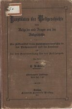 Richter: Hauptdaten der Weltgeschichte   1911