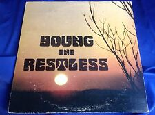 Rare Private Rural Psych Rock LP : Young and Restless ~ Woodnote SR12639