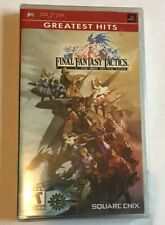 Final Fantasy Tactics: The War of the Lions (Sony PSP, 2007) Brand New. Sealed.