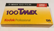 Kodak Tmax 100 B&W Negative Film 5 Pack 120 Expires July 2021