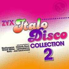 LP vinyle zyx italo disco collection 2 de various artists 2lps