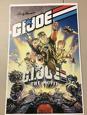 GI Joe The Movie 11x17 Print signed By Hank Garrett (voice Of Dial Tone)!