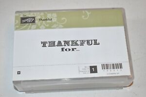 Stampin Up! THANKFUL for...