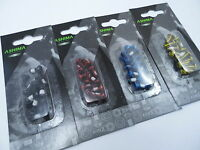 Ashima Disc Rotor Bolts  Coloured Anodised Steel  12 pcs Various Colours