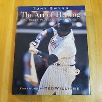 TONY GWYNN: THE ART OF HITTING ROGER VAUGHAN 1st. Ed. Hardcover w/ Dust-cover