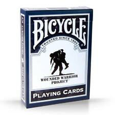 1 Deck Bicycle Wounded Warriors Standard Poker Playing Cards Brand New Deck