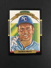 1986 DONRUSS DIAMOND KINGS GEORGE BRETT KANSAS CITY ROYALS #15