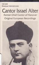 Israel Alter - Original European Recordings (Cassette, 1994, CM-528) Cantor