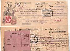 2 LETRAS LINARES UBEDA JAEN AÑO 1920 A EXAMINAR VER FOTOS