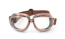 New CRG Vintage Bike Aviator Pilot Motorcycle Cruiser Scooter Goggles T04 T04NC