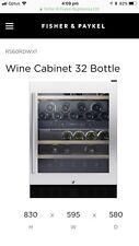 Fisher & Paykel Wine Cabinet (Fridge) 32 Bottle , Dual Zone