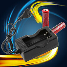 Travel Charger for 18650 Rechargeable Li-Ion Battery EU Plug AX