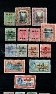 A very nice used & unused overprinted/surcharged group of Bahamas issues