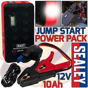 SEALEY 12V 800AMP Schumacher Li-Ion Jump Start Power Pack 800A Peak Power Light