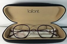 NEW JEAN LAFONT SENEQUE REEDITION 7048W Purple Eyeglasses Frames Size 46-24-140