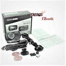 "Kenwood DRV-A301W HD dash cam with 2.7"" display, GPS, and Wi-Fi"