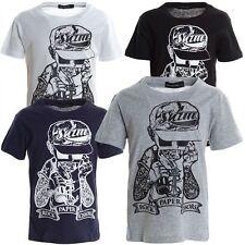 Markenlose Jungen-T-Shirts & -Polos mit klassischem Kragen aus 100% Baumwolle