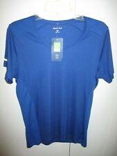Nwt Sport-Tek - Idwear Scoop Neck Tee Royal Color Short Sleeve Size M