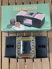 2 Deck Automatic Card Shuffler Poker Cards Shuffling Machine Casino Playing