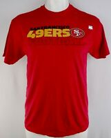 San Francisco 49ers NFL Junk Food Men's Block Red Short Sleeve T-Shirt