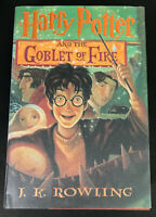 Harry Potter & The Goblet Of Fire  J.K. Rowling  HC 1st American Ed 2000