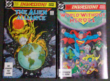 Invasion (Book 1 and Book 3) DC Comics Art by Todd McFarlane and Craig Russell
