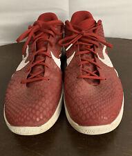 Nike Zoom Kobe 6 VI TB Red White Metallic Silver 454142 600 Sz 15 Mens