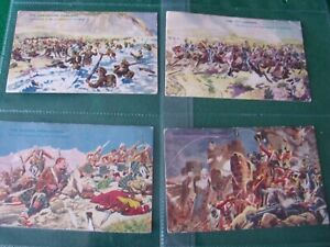 "A FULL SET OF 13 DC THOMSON CARDS ""BATTLES FOR THE FLAG"" INSCRIBED ROVER 1935"