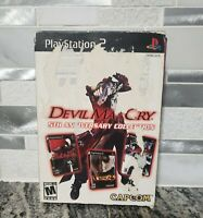 Devil May Cry: 5th Anniversary Collection PlayStation 2 PS2 Tested complete
