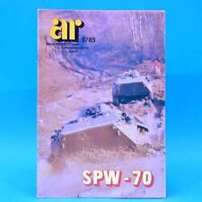 Armeerundschau 9-1985 NVA Volksarmee DDR T SPW-70 AN-124 Aniko Volksmarine ABC