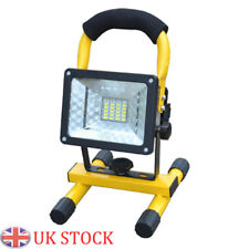 30W 24LED Work Light Flood Lamp Rechargeable Portable Camping Waterproof Outdoor