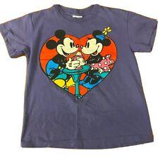 Vintage Disney Single Stitch Tshirt Minnie And Micky Heart Ice Cream Youth 10/12