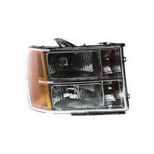 For Sierra 2500 HD 07-14, CAPA Passenger Side Headlight, Clear Lens
