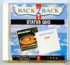 Status Quo/If You Can't Stand The Heat & 1982 (UK/2 LPs on 1 CD)  NEW!