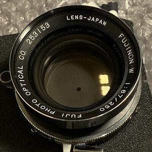 Fujinon W 250mm f6.7 4x5 - 8x10 lens