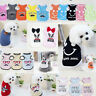 Lovely Summer Pet Vest Puppy Small Dog Cat Pet Clothes Various T-Shirts Apparel
