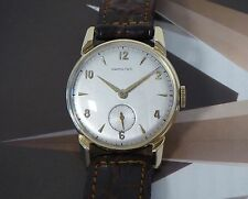 "Vintage 1949 Solid 14K Men's Hamilton ""Kirk"" Manual Wristwatch 1 Year Warranty"